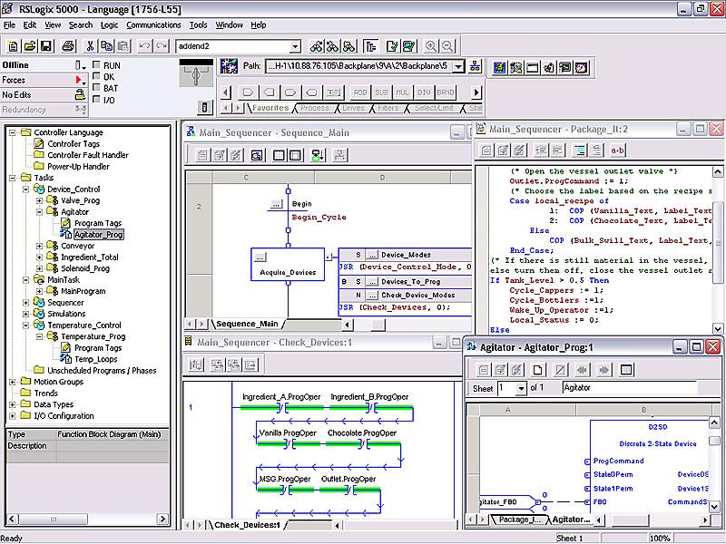 rslogix 5000 instruction manual
